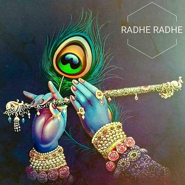 radhe radhe images